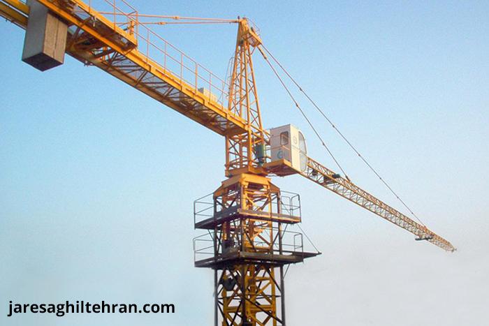 قیمت اجاره جرثقیل تاور کرین در تهران